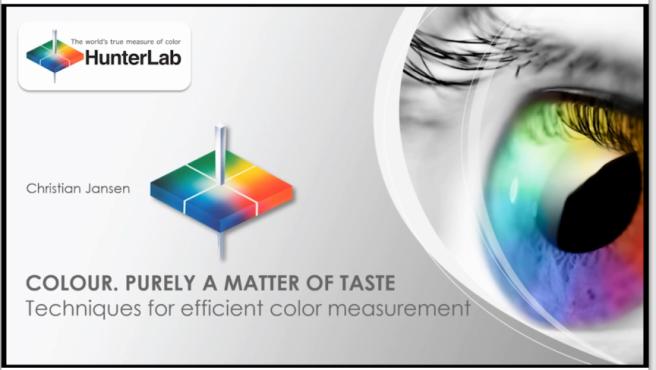 colour matter taste